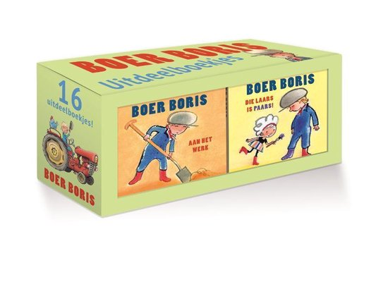 Boek cover Boer Boris  -   Boer Boris uitdeelboekjes van Ted van Lieshout (Onbekend)