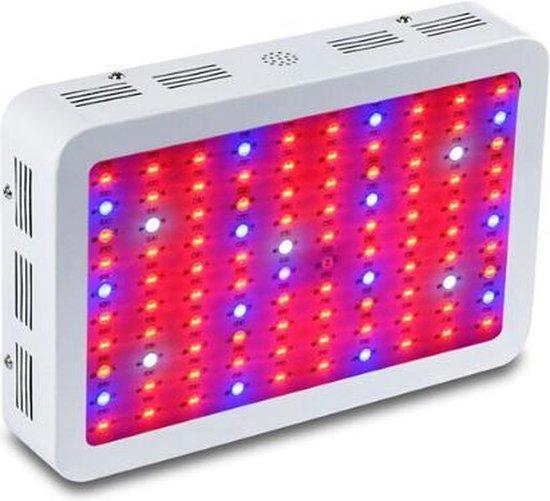 Mastergrow Professionele Kweeklamp - Groeilamp - LED - Dubbele Chip - Snelle groei - Hoge kwaliteit - Full Spectrum - Zuinig - 1000W - Groei en Bloei - 100 LEDs - Gratis Bril en Ophang mechanisme