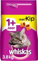 Whiskas 1+ Adult Droge Brokjes - Kip - Kattenvoer