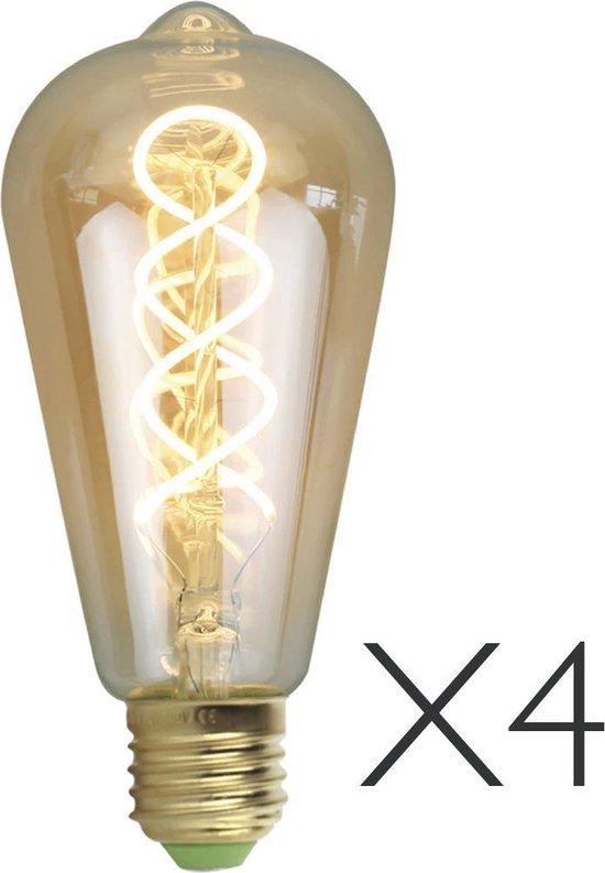 XL Lamp ST64 LED dimbaar per 4 stuks