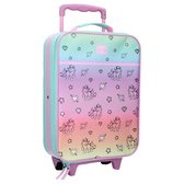 Milky Kiss Rainbows & Unicorns Reiskoffer - 16,8 l - Mint
