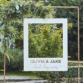 Botanical Wedding - Photobooth Frame Personalised