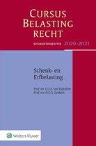 Boek cover Cursus Belastingrecht  -  Schenk- en Erfbelasting 2020-2021 van I.J.F.A. van Vijfeijken (Paperback)