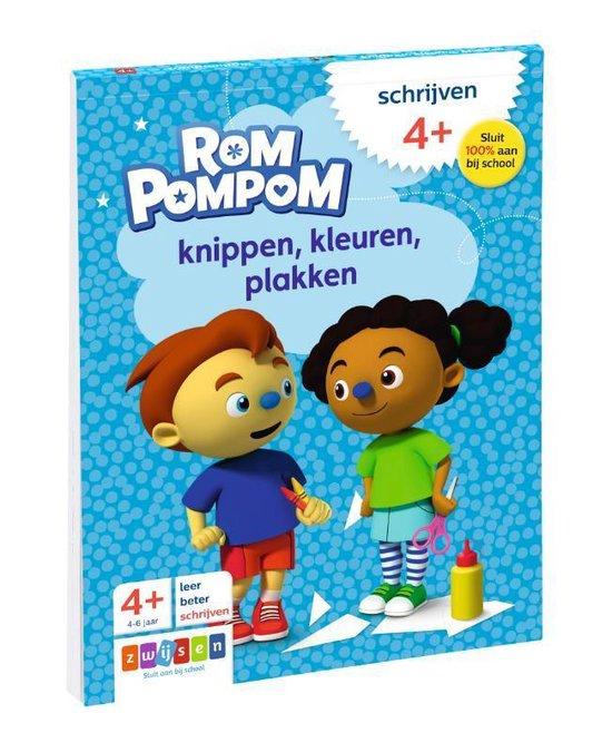 Rompompom - Knippen, kleuren, plakken - none  