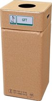 Afvalbak karton, Afvalbox GFT (herbruikbaar)