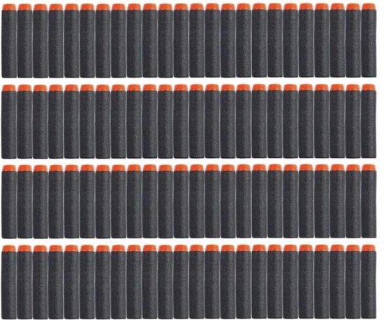 30 Pijltjes/Darts/Bullets geschikt voor Nerf Blasters - Speelgoedblaster pijltjes Zwart