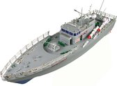 Bestuurbare boot Torpedo jager 1:115 - Lengte 51 cm. - Grijs