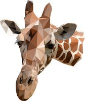 Rock that Wall muursticker giraffe uit de Diamond Zoo Collectie