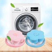 Wasmachine filter - Wasmachine reiniger - Wasmachine vuilreiniger - Wasmachine cleaner - Blauw - Herbruikbaar - Wasfilter - Schoonmaakmiddel - Vuil verwijderen - Drijvend vangnet - Haarvanger - Haar vanger - Ontstopper - Thuis innovatie - Vangnet