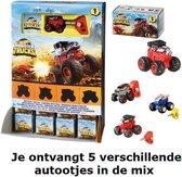 Hotwheels Monster Trucks autootjes 5-pack