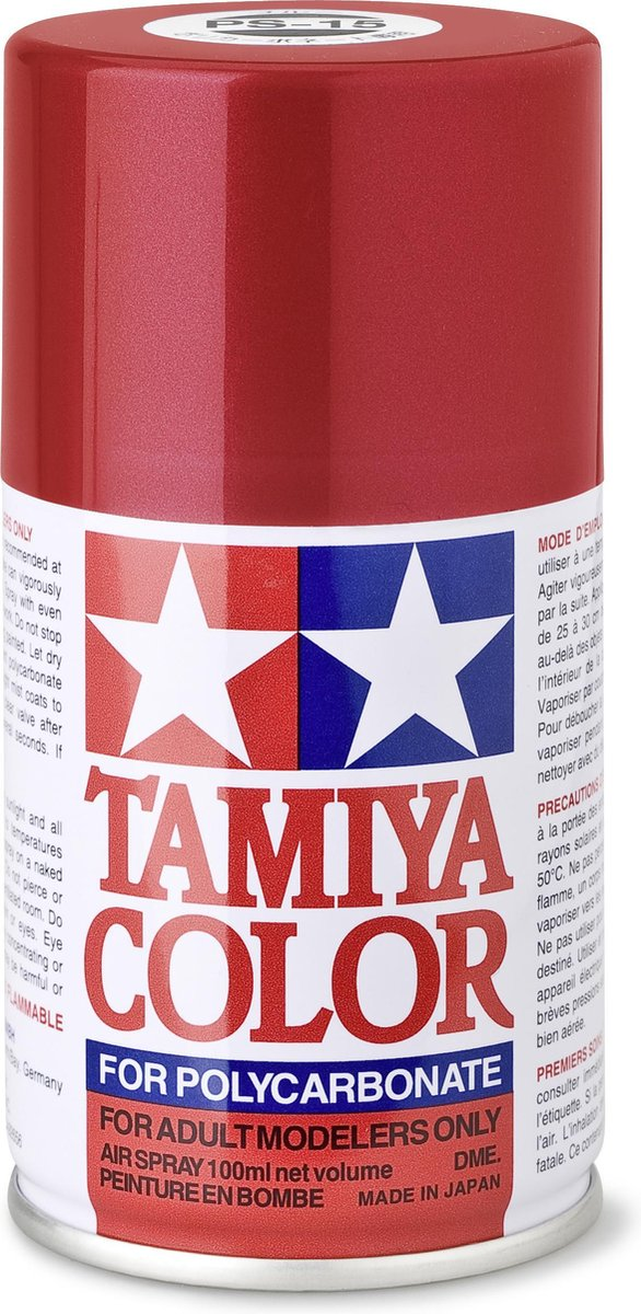 TAMIYA PS-15 Metallic rood (spuitbus 100ml)