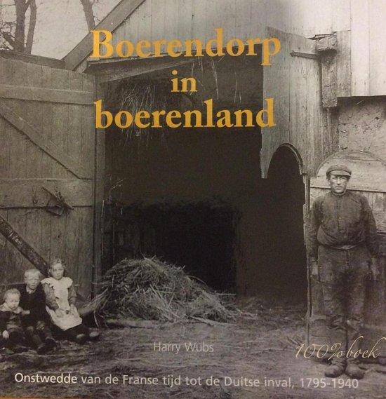 Boerendorp in boerenland - H. Wubs |
