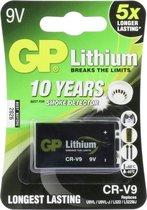 GP 9V Lithium Batterij - 1 stuk