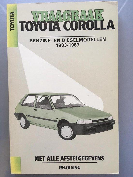 TOYOTA COROLLA BENZ. + DIESEL 83-87 - Olving |