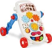 Loopwagen - Blauw - Baby walker - Baby speelgoed - Loopsteun kind - Leren lopen