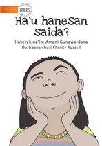 Who Am I? (Tetun edition) - Ha'u hanesan saida?