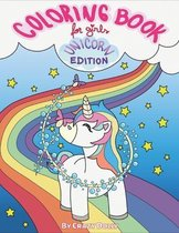 Coloring Book for Girls - Unicorn Edition