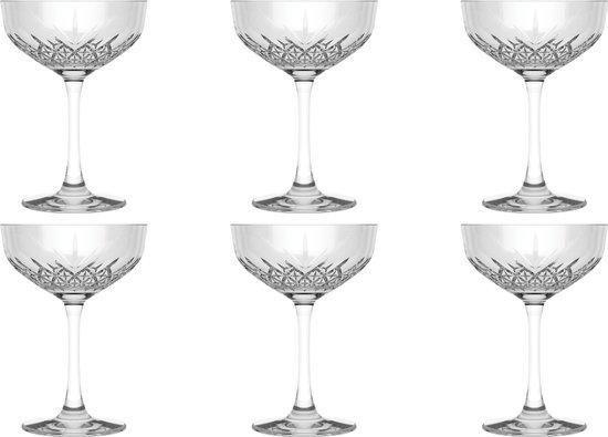 Pasabahce Champagnecoupe Timeless 27 cl - Transparant 6 stuk(s)
