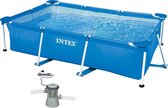 Intex Zwembad Frame Pool 260x160x65cm (met filterp