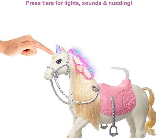 Barbie Princess Adventure Paard en Prinsessenpop