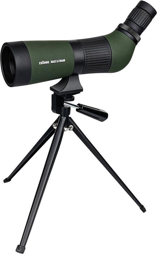 Dörr Danubia Kauz 10-36x50 Zoom Spotting Scope met Tafelstatief