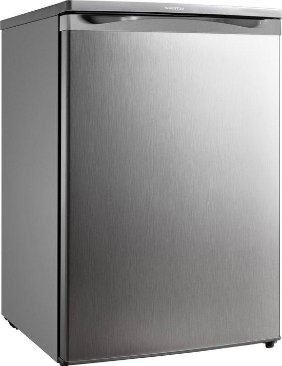 Tafelmodel koelkast: Inventum KK055R - Tafelmodel koelkast - RVS, van het merk Inventum