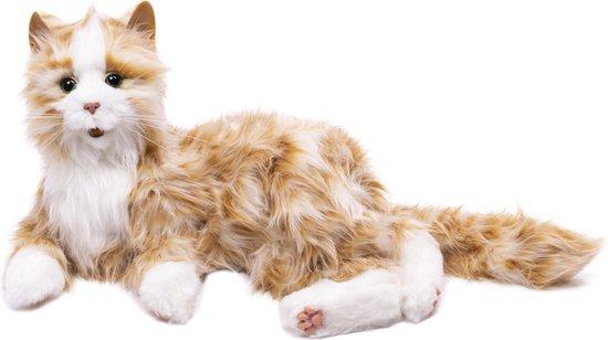 Interactieve Kat voor ouderen - Joy for All - Oranje