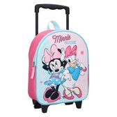 Disney Minnie Mouse Simply Sweet (3D) Rugzaktrolley - 9,3 l - Roze