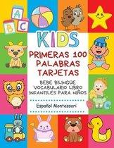 Primeras 100 Palabras Tarjetas Bebe Bilingue Vocabulario Libro Infantiles Para Ninos Espanol Montessori
