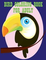 Bird Coloring Book for Adult