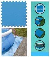 Zwembad tegels - Set van 8 stuks - Bodem beschermi