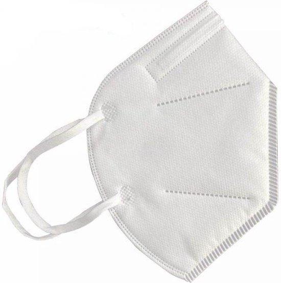 Afbeelding van Ultrafijn masker | Comfortabel & filtert de lucht | One Size |Voor in de Trein
