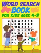 Word Search Book for Kids ages 4-8