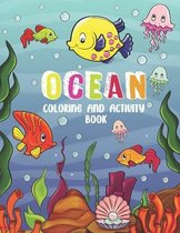 Ocean Coloring and Activity Book