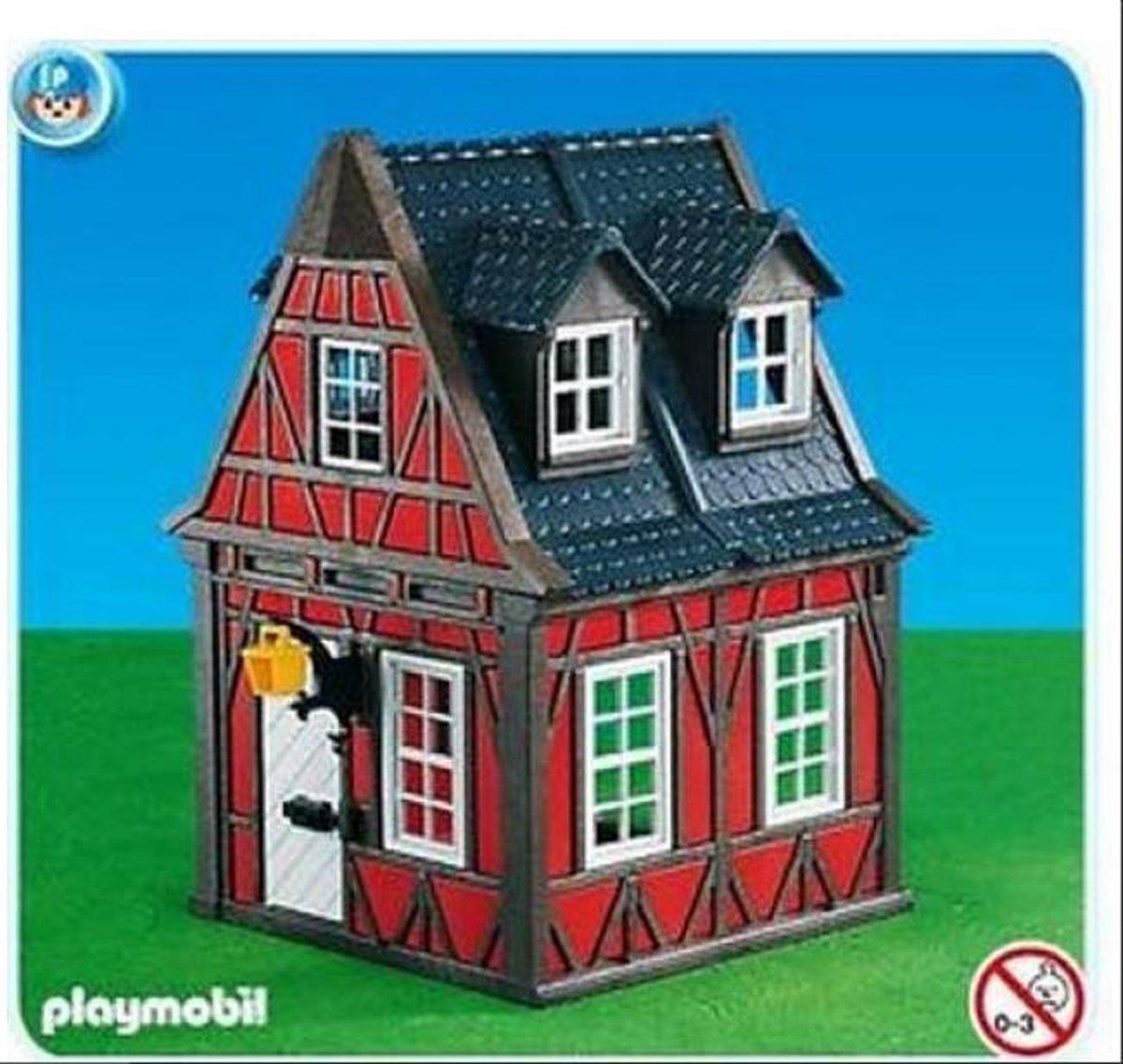 Playmobil vakwerkhuis Middeleeuws