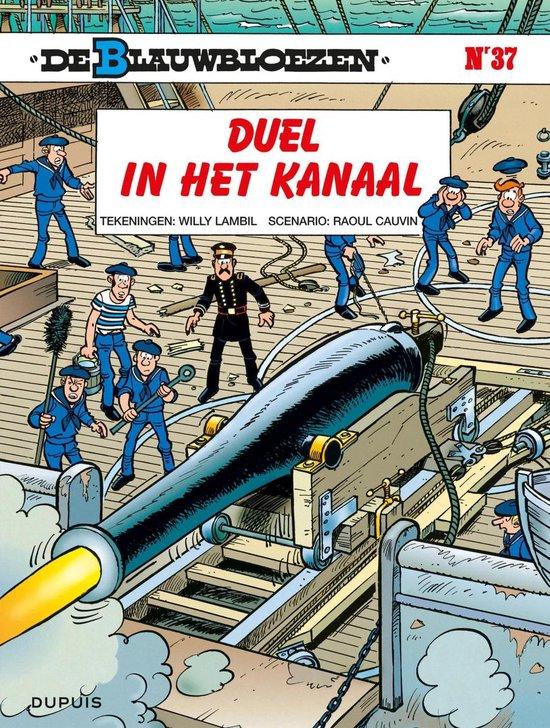 Cover van het boek 'Blauwbloezen 37 Duel In Kana'