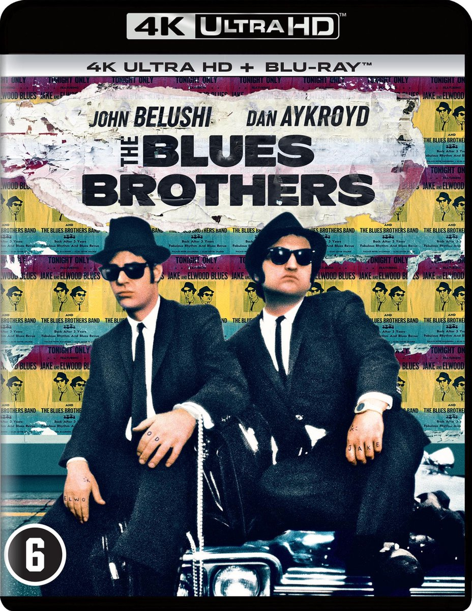 The Blues Brothers (4K Ultra HD Blu-ray)-
