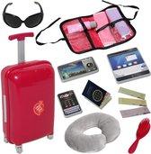 Doll Travel Set - Reis Koffer Set voor 46cm Pop