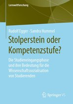 Boek cover Stolperstein oder Kompetenzstufe? van Rudolf Egger