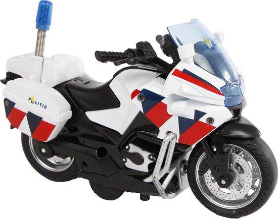 Afbeelding van 2-Play Auto pb politiemotor + licht/geluid: 13 cm speelgoed