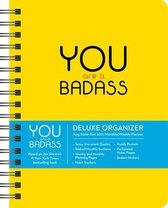 You Are a Badass 17-Month 2020-2021 Monthly/Weekly Planning Calendar