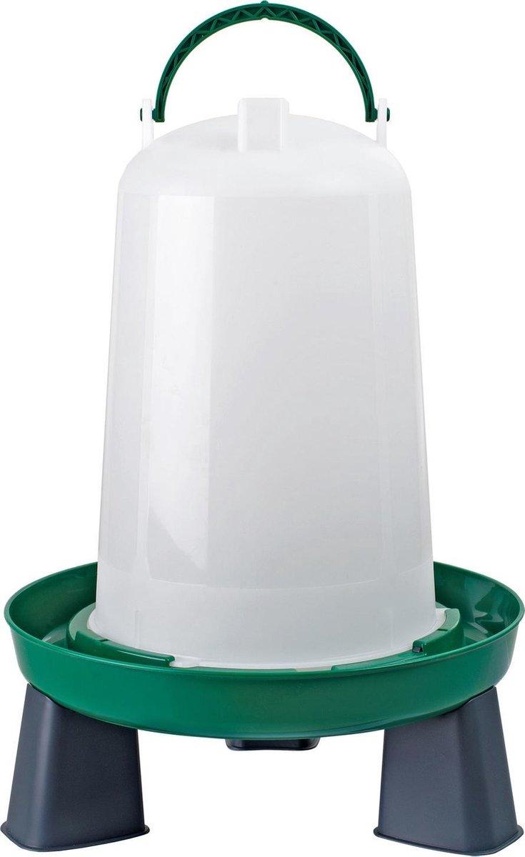 Olba Drinkbak Met Pootjes Groen - Drinkbak - 6 l
