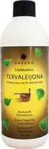 """Saunageur """"Tervaleijona """" opgiet berkenteer (Terva) + eucalyptus"""