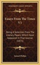 Essays from the Times V1 Essays from the Times V1