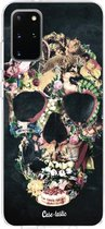 Samsung Galaxy S20 Plus hoesje Vintage Skull Casetastic Smartphone Hoesje softcover case
