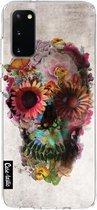 Samsung Galaxy S20 hoesje Skull 2 Casetastic Smartphone Hoesje softcover case