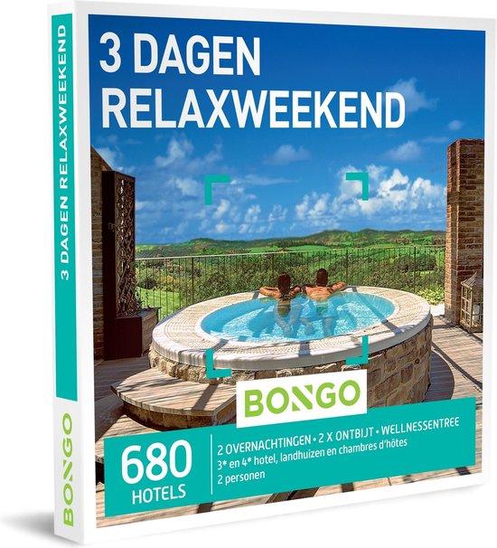 Bongo Bon Nederland - 3 Dagen Relaxweekend Cadeaubon - Cadeaukaart cadeau voor vrouw | 680 hotels met spa en wellnessfaciliteiten