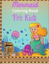 Mermaid Coloring book for Kids