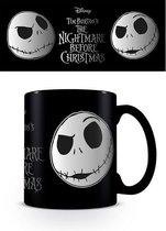 Nightmare Before Christmas Jack Face Foil Mok