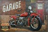 Wanddecoratie motor | 120*6*80 cm | Meerkleurig | Ijzer | Motor | Clayre & Eef | 5WA0168